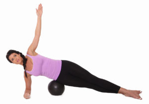 Side Plank = Pilates Exercise